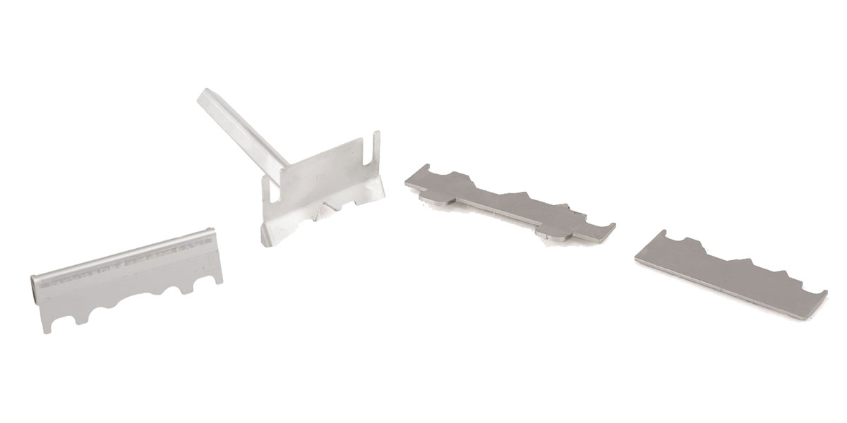 Teile betonblokken werkzeuge
