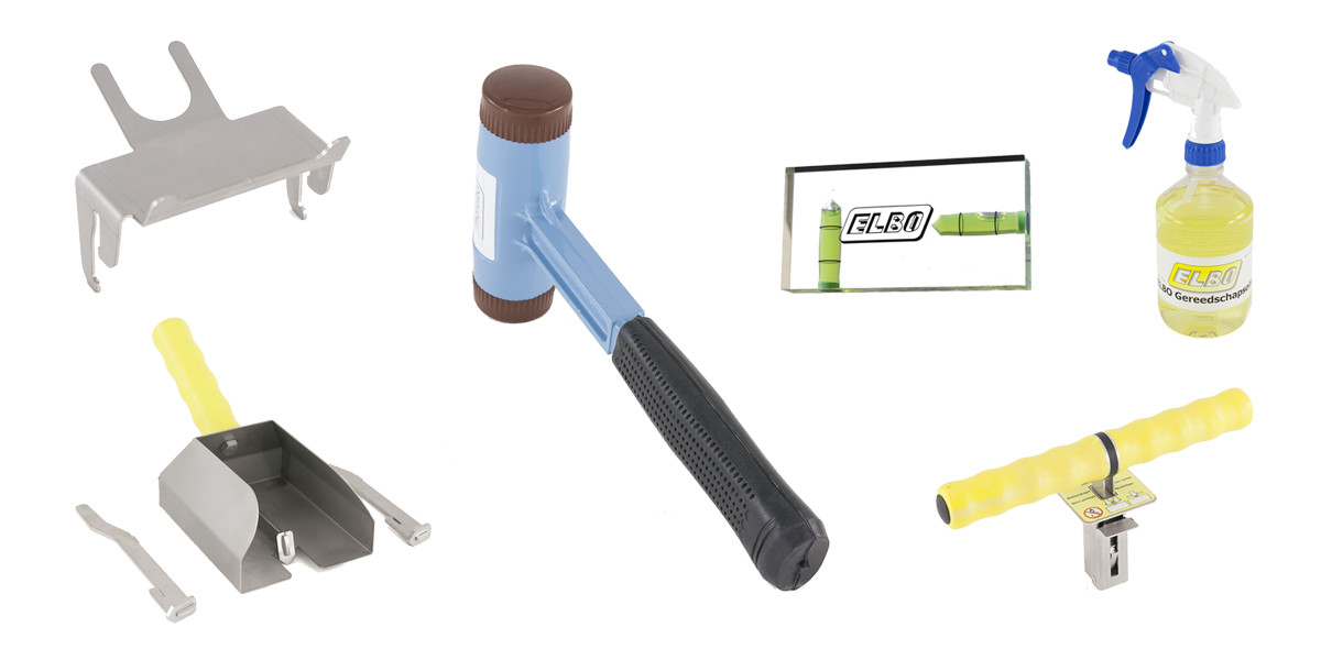 Accessories aerated concrete tools